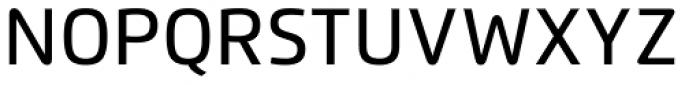 Flexo Medium Font UPPERCASE