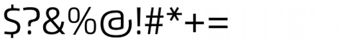 Flexo Regular Font OTHER CHARS