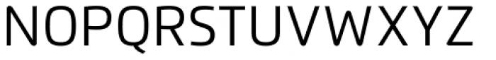 Flexo Regular Font UPPERCASE