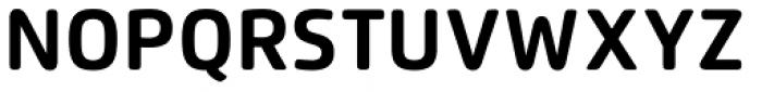 Flexo Soft Bold Font UPPERCASE