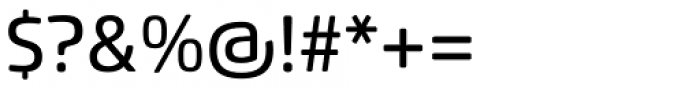 Flexo Soft Medium Font OTHER CHARS