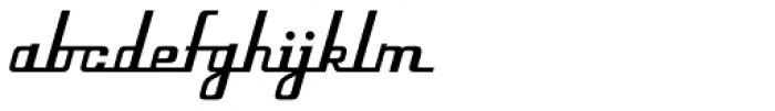 Flieger Pro Font LOWERCASE
