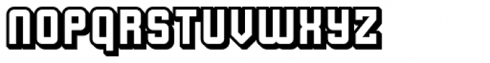 Flim 3 d Font LOWERCASE