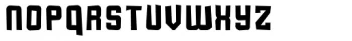 Flim Grunge Font LOWERCASE