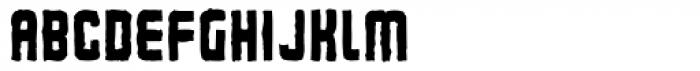 Flim Mutant Narrow Font UPPERCASE