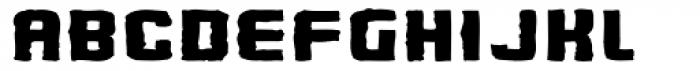 Flim Mutant Wide Font UPPERCASE