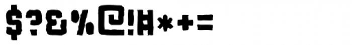 Flim Mutant Font OTHER CHARS