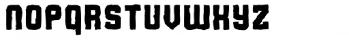 Flim Mutant Font LOWERCASE