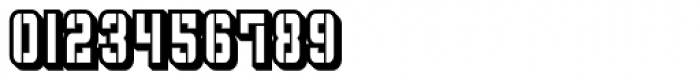 Flim Stencil Narrow 3 d Font OTHER CHARS