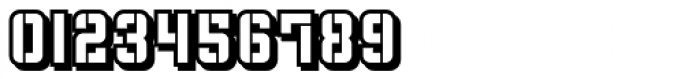 Flim Stencil Shadow Font OTHER CHARS