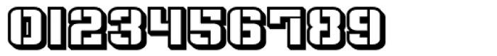Flim Stencil Wide 3 d Font OTHER CHARS