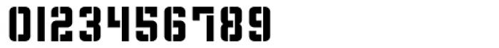 Flim Stencil Font OTHER CHARS