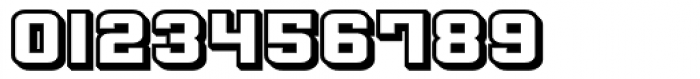 Flim Wide 3 d Font OTHER CHARS