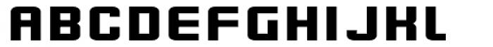 Flim Wide Font UPPERCASE