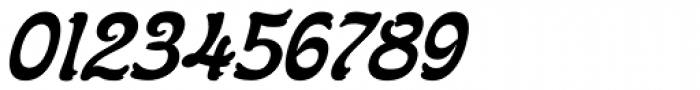 Flinscher Demi Bold Italic Font OTHER CHARS