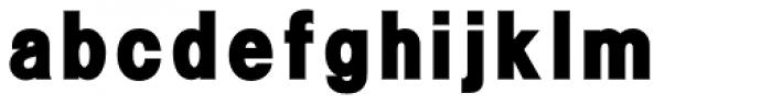 Flip Fill Font LOWERCASE