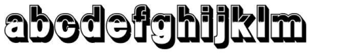 Flip Regular Font LOWERCASE