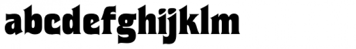 Flix Font LOWERCASE