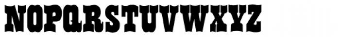 Flo Barnum Font UPPERCASE