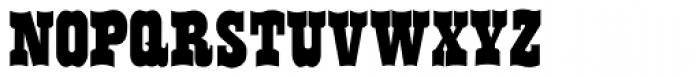 Flo Barnum Font LOWERCASE