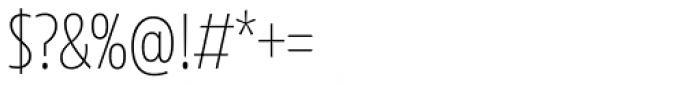 Floki Extra Light Font OTHER CHARS