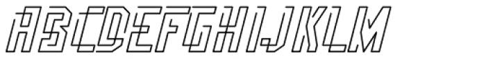 Flomic Font UPPERCASE