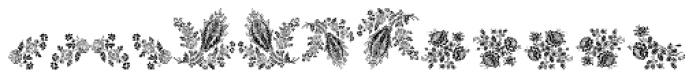 Floreale Font LOWERCASE