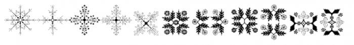 Floreart Three Font LOWERCASE