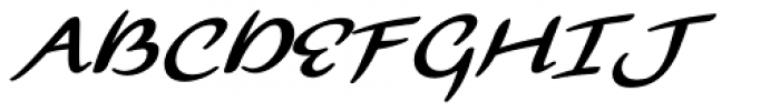 Florencia Bold Font UPPERCASE