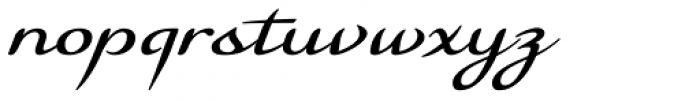 Florencia Font LOWERCASE