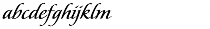 Florens Regular Font LOWERCASE