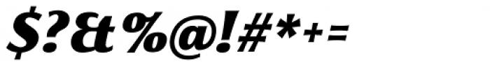 Florentia Black Italic Font OTHER CHARS