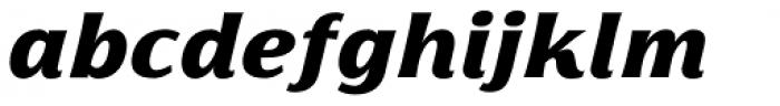 Florentia Black Italic Font LOWERCASE