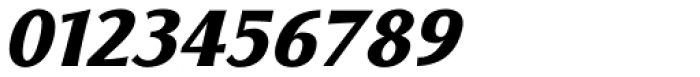 Florentia ExtraBold Italic Font OTHER CHARS