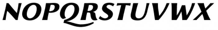 Florentia ExtraBold Italic Font UPPERCASE