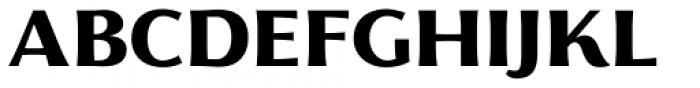 Florentia ExtraBold Font UPPERCASE