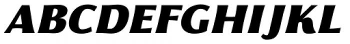 Florentia Fat Italic Font UPPERCASE