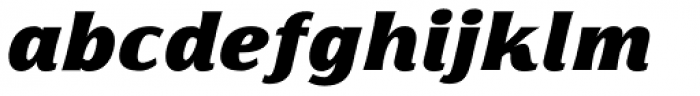 Florentia Fat Italic Font LOWERCASE