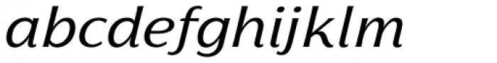 Florentia Italic Font LOWERCASE