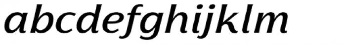 Florentia Medium Italic Font LOWERCASE
