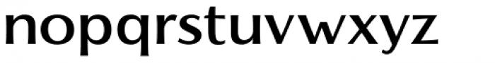 Florentia Medium Font LOWERCASE