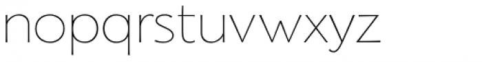 Florentia Thin Font LOWERCASE
