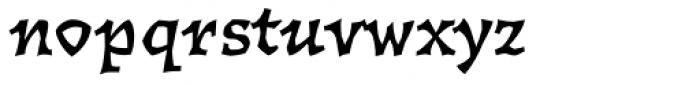 Florentin 2D Bold Font LOWERCASE