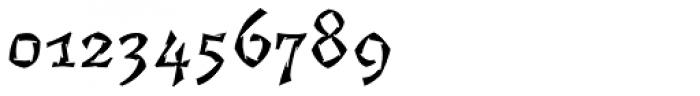Florentin 2D Gravure Font OTHER CHARS