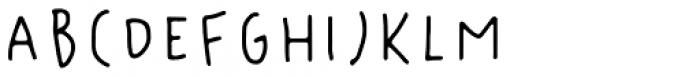 Florentina Regular Font UPPERCASE