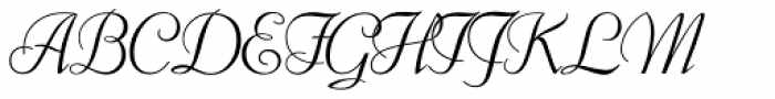 Florentine Cursive RR Old Style Figures Font UPPERCASE
