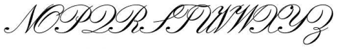 Florentine Script Std II Font UPPERCASE