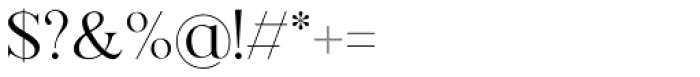 Florian Regular Font OTHER CHARS