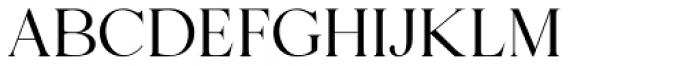Florian Regular Font UPPERCASE
