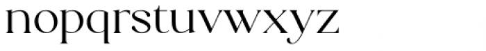 Florian Regular Font LOWERCASE